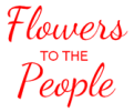 Flowers to the people